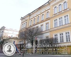 III LO w Świdnicy – kreatywna szkoła dla ludzi z pasją