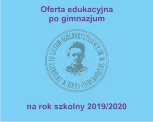 Oferta Edukacyjna po gimnazjum