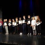 Nagrody i wyróżnienia dla recytatorek z Liceum Skłodowskiej w eliminacjach OKR-u